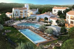 Top quality apartment with pool in new world leading golf development near Loule
